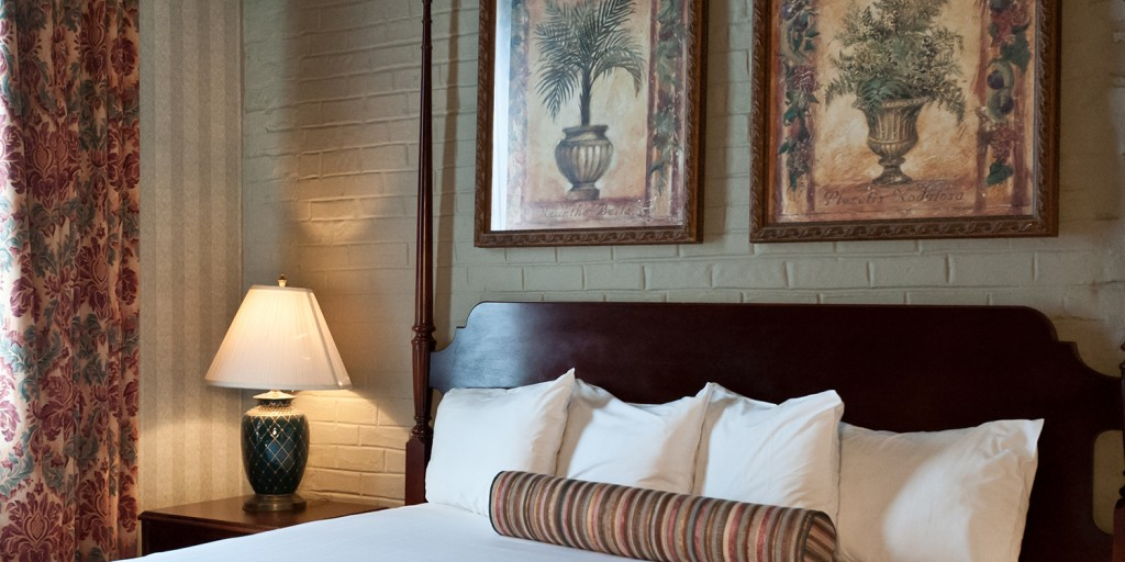 Guest rooms at the Prince Conti hotel New Orleans