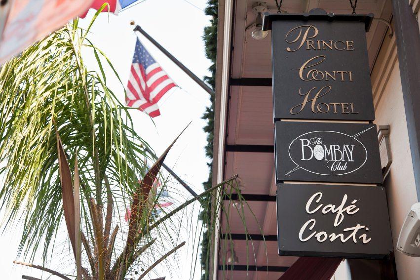 The Prince Conti Hotel in New Orleans, LA